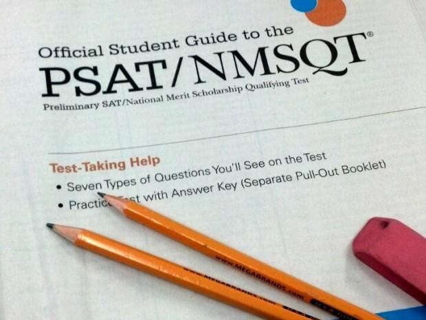 PSAT Testing Day ~ No Classes for Seniors