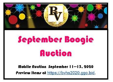 September Boogie Auction
