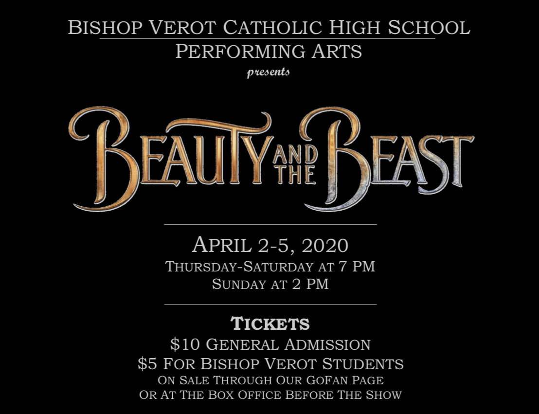 Bishop Verot Theater presents Beauty and the Beast
