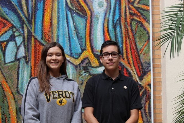 Bishop Verot High School Announces Two National Merit Scholarship Semifinalists