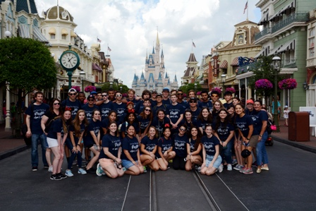 Verot Band and Choir Compete at Festival Disney