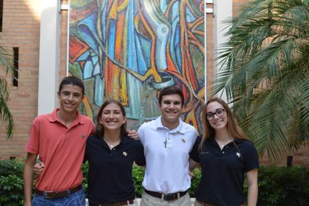 Four Seniors Named Scholars in the National Hispanic Recognition Program