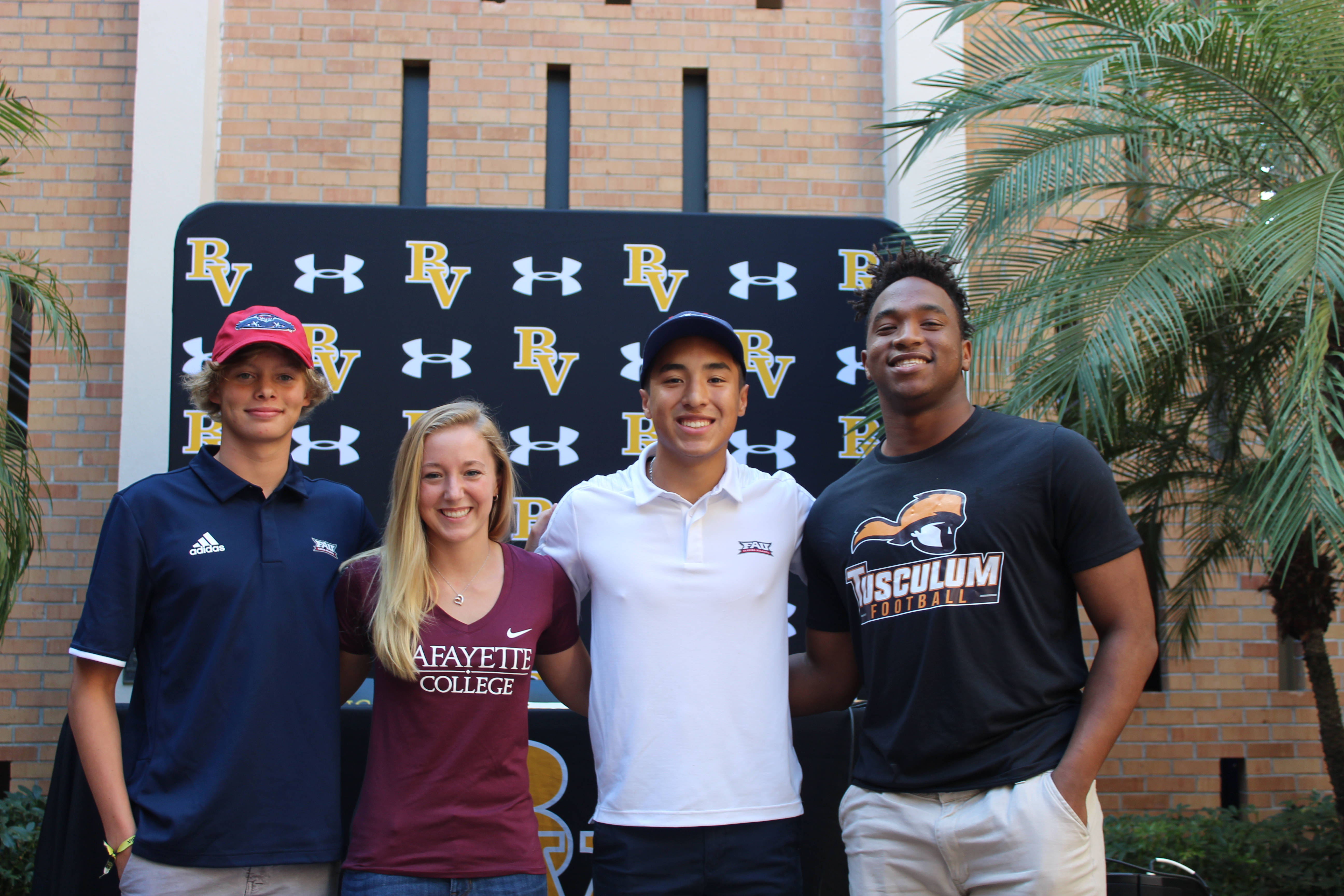 Bishop Verot Athletes Commit to Play Collegiate Sports