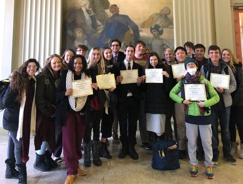 Bishop Verot Model UN Competes in MITMUNC