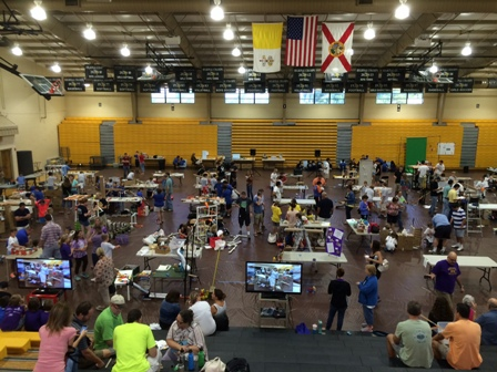 Bishop Verot Hosts STEM Tour Competition