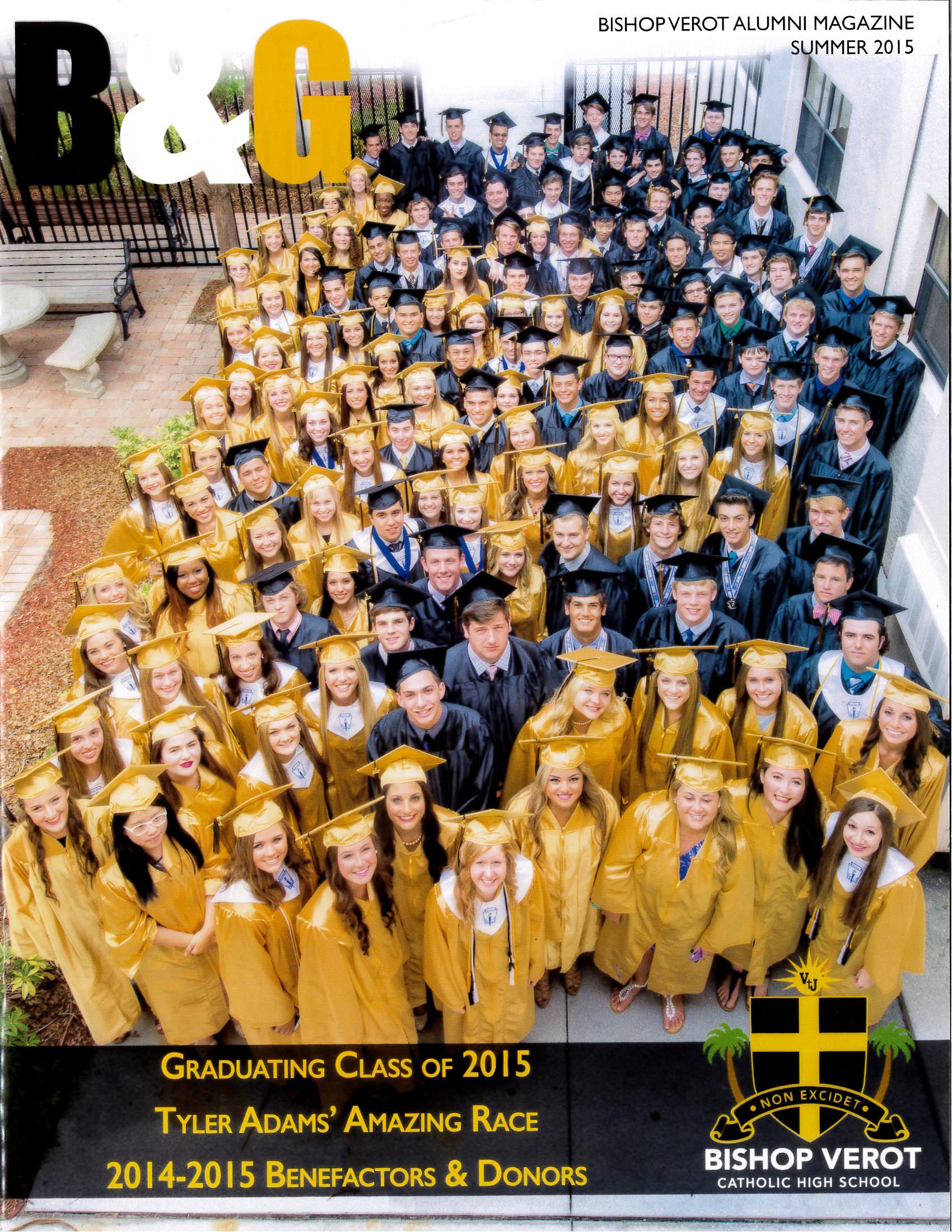B&G Alumni Magazine Summer 2015