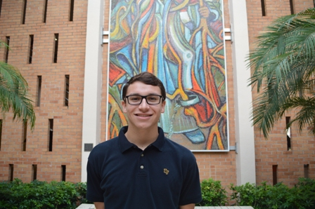 Verot Student Named Scholar in National Hispanic Recognition Program
