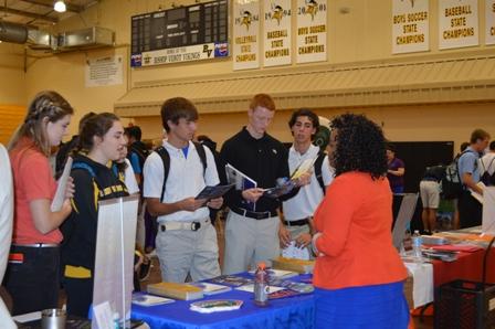 Verot Hosts College Fair