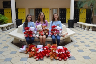 Scholar's Academy Students Hold Teddy Bear Drive for Valerie's House