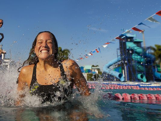 Stephanie Peacock '10, sets her sights on the 2016 Olympics.